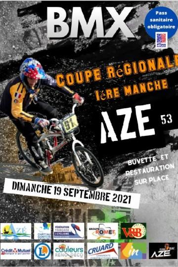 1 ère coupe régionale pays de Loire Azé